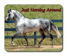 Dapple Grey CAVALLO Tappetino mouse-horsing circa