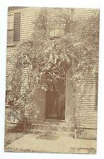 Doorway Sign of the Cock Horse, Brattle Street, Cambridge, MA, Longfellow Smithy
