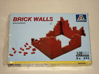 Italeri Brick Walls 1:35 Model Kit (405) 1995 (opened but never used - complete)