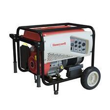 Honeywell 7500 Watt Electric Start Portable Generator bought new, never used.