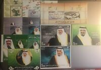 Saudi Arabia 2012 Full Year Set Of Stamps And Minisheets