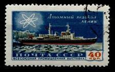 """Atom - Eisbrecher """"Lenin"""".  1W. Gest. UdSSR 1958"""