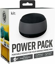Google Home Mini Portable Battery Power Pack by Kit 12hrs power BNIB