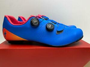 NEW Specialized Body Geometry TORCH 3.0 Road bicycle SHOES 44 BASICS Blue