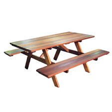 NEW Merbau solid Picnic Bench Outdoor 5 - 7 Seater
