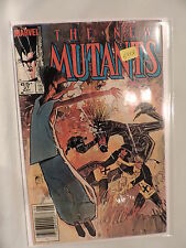 #27 The New Mutants 1985 Marvel Comics B358