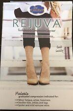 Dr. Comfort REJUVA 15-20 Sheer Dot Pattern Knee high CT  15-20mmHg Med