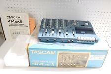 Nice Clean TASCAM Portastudio 414MKII 4-track Cassette Recorder & AC Adapter Box