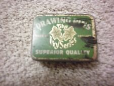 VINTAGE THE IVY SERIES DRAWING PINS TIN, SUPERIOR QUALITY