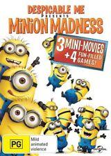 Despicable Me Presents Minion Madness (DVD, 2013)