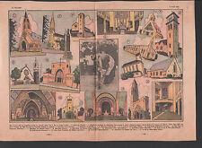 NOUVELLES EGLISES CARDINAL VERDIER CHANTIERS ILLUSTRATION 1935