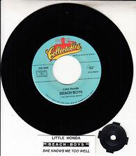 "BEACH BOYS Little Honda & She Knows Me Too Well 7"" 45 rpm vinyl record BRAND NEW"