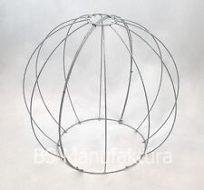 Topiary metal wire frame BALL GLOBE 50cm shaping boxwood