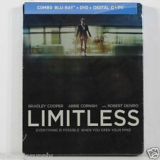 Limitless Blu-ray Disc Steelbook