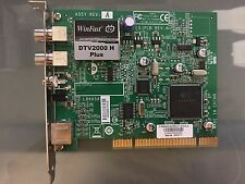 Leadtek Winfast DTV2000 H Plus Tv Tuner Card PCI