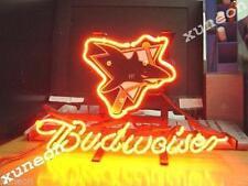 Rare Budweiser Bud San Jose Sharks Nhl Hockey Beer Bar Pub Real Neon Light Sign