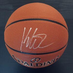 Klay Thompson Autographed Spalding NBA Basketball Golden State Warriors/ JSA