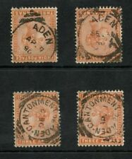 Used Victorian (1840-1901) Adeni Stamps (Pre-1967)