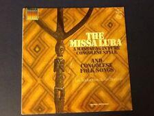 LES TROUBADOURS DU ROI BAUDOUIN~missa luba PHILIPS 1965~Congo Folk Songs~ Nm