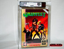 Gauntlet Foil Variant Nintendo NES Brand New Sealed VGA 85+ Gold Mint Condition