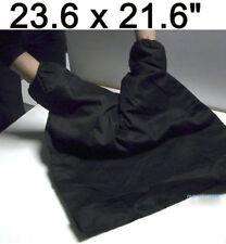 "23.6"" x 21.6"" Photography Portable Camera Dark Room Film Changing Bag  Black"