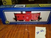 ERIE CABOOSE, RED, C143, AHM, NEW OLD STOCK, sp112