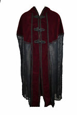 Dark Star Jacket Red And Black Long Cape. Size 16