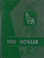 High School Yearbook Howland Maine ME Howland High School Howler 1960