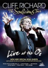 Cliff Richard - The Soulicious Tour [DVD] 2011  Brand new and sealed
