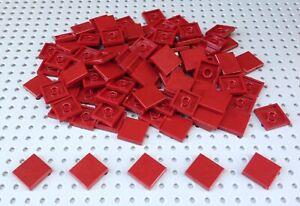 Lego Dark Red 2x2 Flat Tile (3068) x20 *BRAND NEW* Minecraft Star Wars Marvel