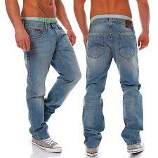 Tommy Hilfiger Denim Ryan Herren Jeans Flou Florida Used NEU Hose Blau