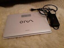 "SONY VAIO SVE141D11L Laptop 14"" 2.50GHz Core i5-3210M 4GB Ram 400GB HDD Win10"