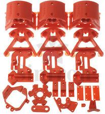 Kossel Mini Plastic Printed Parts for RepRap Rostock Delta 3D Printer, PLA Red