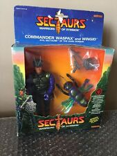 VINTAGE 1984 COLECO SECTAURS WASPAX With WINGID FIGURE Brand New Open Box!
