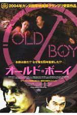 OLDBOY Movie POSTER 27x40 Japanese Min-sik Choi Ji-tae Yu Dae-han Ji Dal-su Oh
