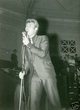 JOHNNY HALLYDAY VINTAGE PHOTO R80 #10 SIGNEE