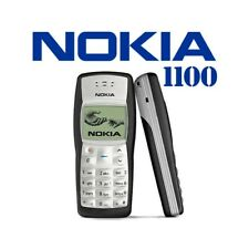 Phone Mobile Phone Nokia 1100 Black Candybar Gsm Lightweight Refurbished
