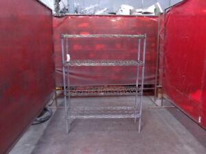 """Metro Rack 4 Shelf Wire Shelving 48"""" X 14"""" X 63"""""""