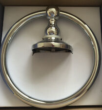 John Lewis Wall Mounted chrome towel ring. Great Quality