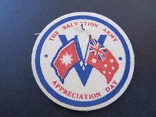 WW1 circa Australia The Salvation Army Badge