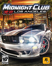 Midnight Club. Los Angeles PS3 game (2008)