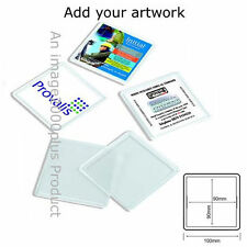 Acrylic Square Collectable Keyrings
