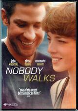 NOBODY WALKS The MOVIE on a DVD with JOHN KRASINSKI and OLIVIA THIRLBY Drama NEW