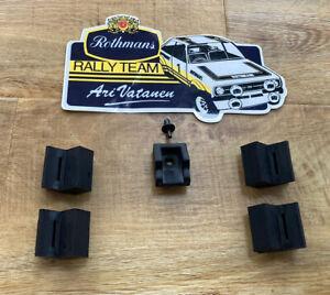 Ford Mk2 Escort Bonnet Inner Wing Rubber Rest Set Rally Race GRP4
