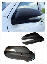Rear View Side Mirror Turn Signal LED Light Fit for Toyota Hilux Revo 15-17Black