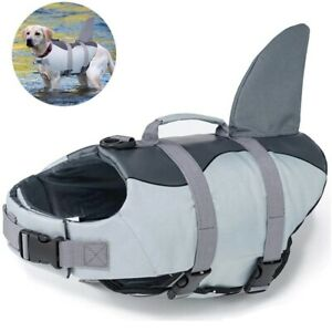 Dog Life Jacket Ripstop Dog Lifesaver Rescue Handle Pet Dog Safety Swimsuit Pool