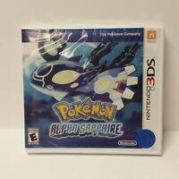 Pokemon Alpha Sapphire - UAE Saudi Arabia Malaysia Singapore - 3DS, New, Sealed