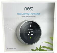 Nest Learning Stainless Steel Programmable Thermostat Missing Base