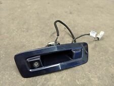 2009 - 2012 Chevy Traverse Lift Gate Handle w/Rear View Back Up Camera Blue OEM