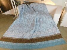 BASSETTI Tagesdecke Quilt STEPP-DECKE VENEZIA V3 blau braun XXL 225x255 Plaid